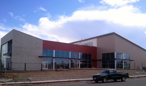 Worth Brewing construction, October 2012