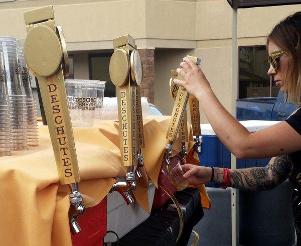 Golden taps at Deschutes' 27th
