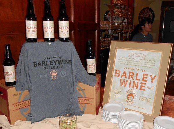 Deschutes Brewery Class of '88 Barley Wine swag
