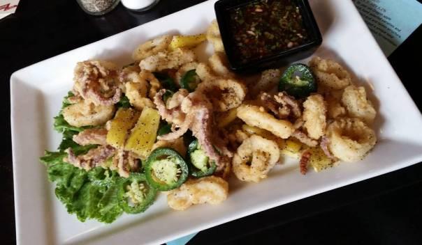 Deschutes Brewery calamari