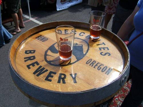 Deschutes barrel-aged beers
