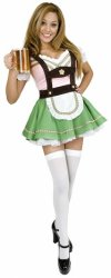 Halloween Bavarian beer girl costume