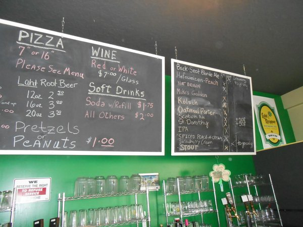 Laht Neppur Ale House menu boards