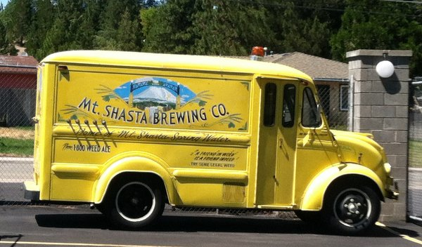 Mt. Shasta Brewing truck