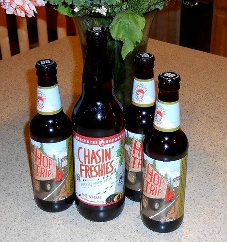 Deschutes Brewery fresh hop beers