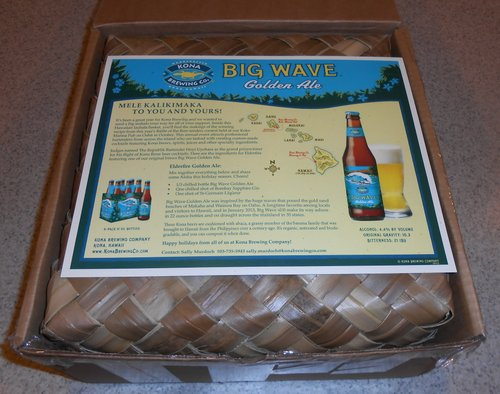 Kona Brewing package