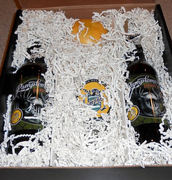 Lompoc Brewing package containing Pamplemousse