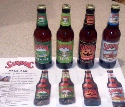 Saranac beers