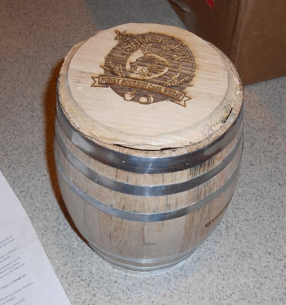 Shock Top bourbon cask