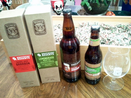 4 beers from Widmer