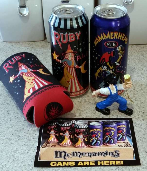 Received: McMenamins new cans