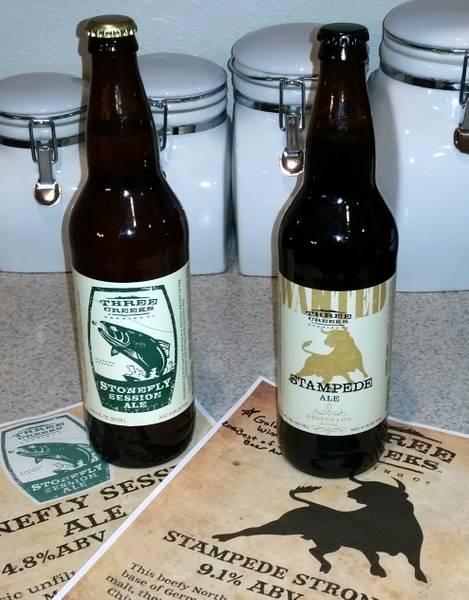 Received: Three Creeks Brewing beers