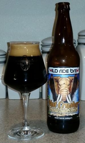 Wild Ride Brewing Nut Crusher Peanut Butter Porter