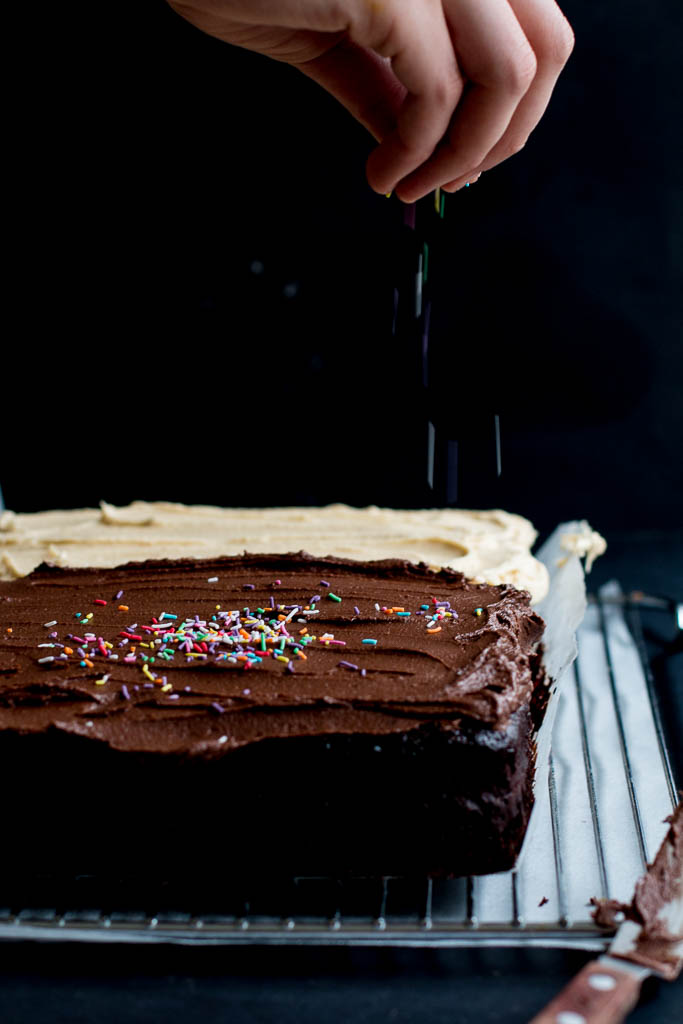 Chocolate Tahini Cake - The Brick Kitchen
