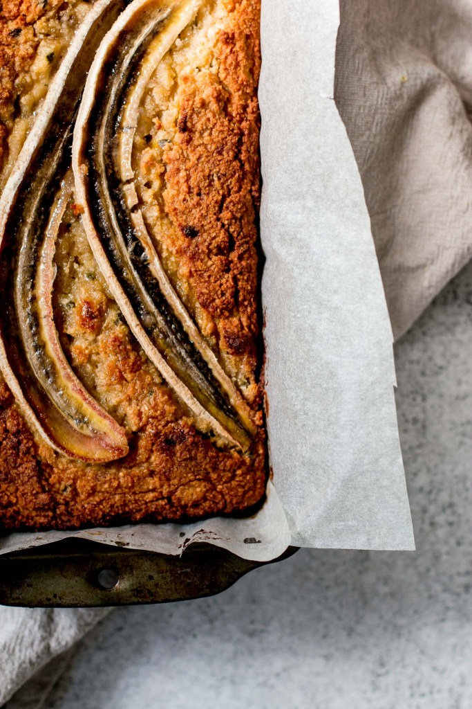 Healthier Banana, Passionfruit & Coconut Loaf - The Brick Kitchen