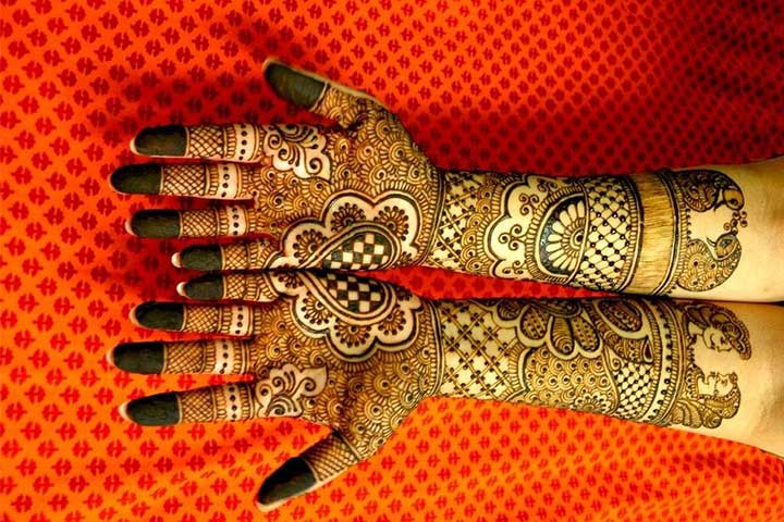 Mehndi Quotes For Him : Bajuband mehndi designs armlet that will inspire you