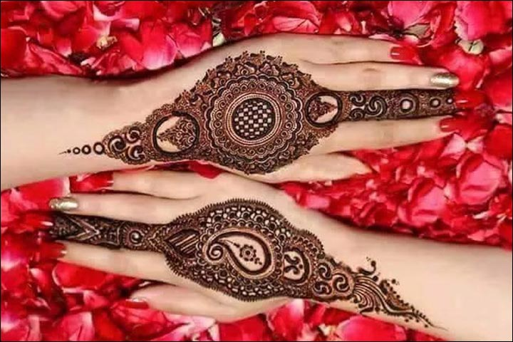 Leg Mehndi Designs Easy Only : Karva chauth mehndi designs patterns to impress