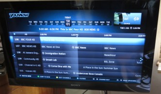 Channel 4+1 HD and 4Seven HD (YouView EPG)