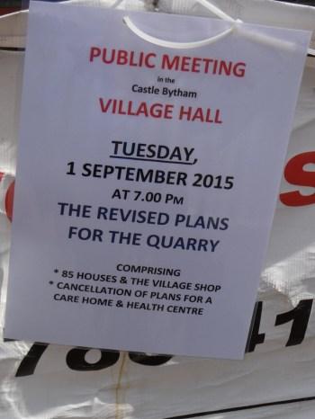Pulic meeting : 01/09/2015