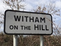 Witham on the Hill village sign
