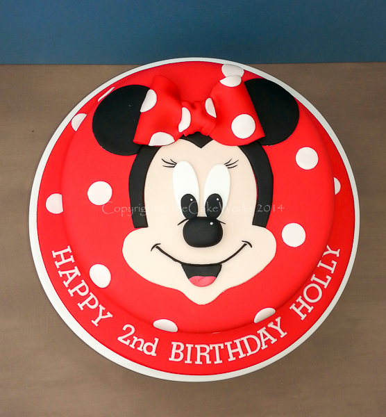 Minnie Mouse 2nd birthday cake Childrens party cakes Girls