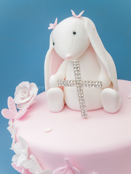 Bunny Rabbit Christening cakes