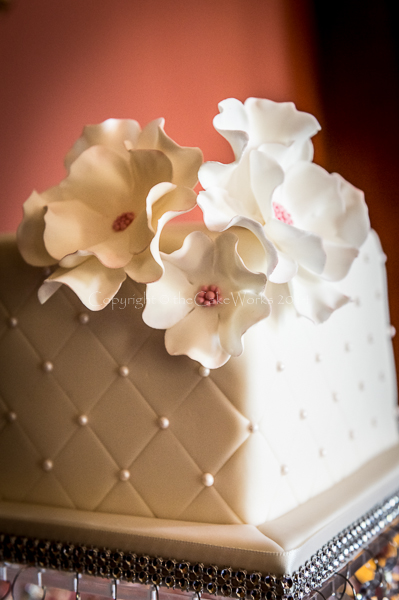 Quilted icing.