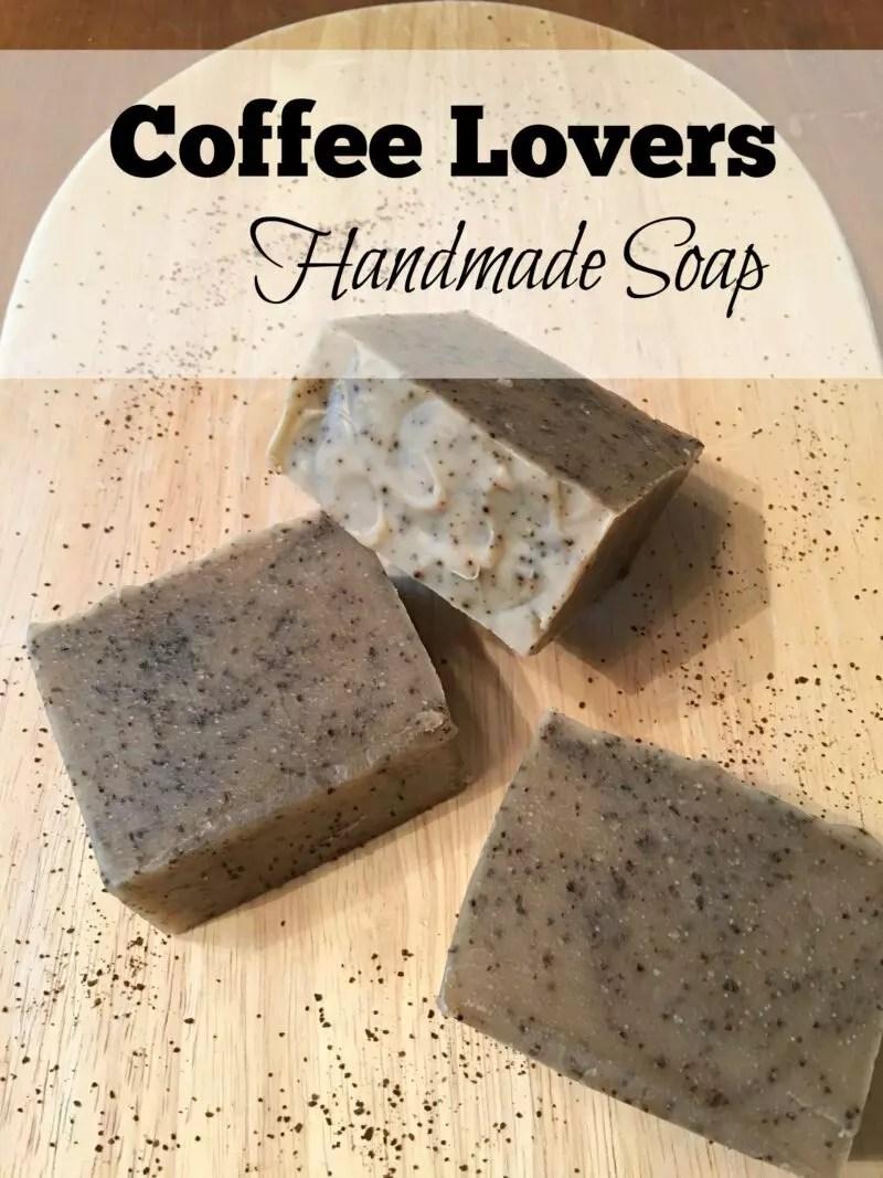 Coffee Lovers Handmade Soap