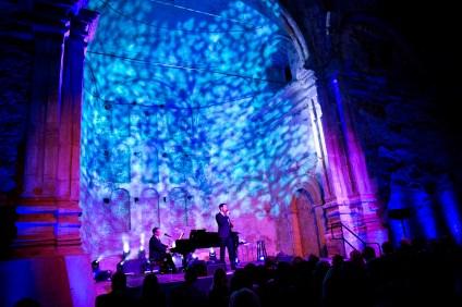 The annual gala features a musical performance in the Great Stone Church. Photo: Carla Rhea