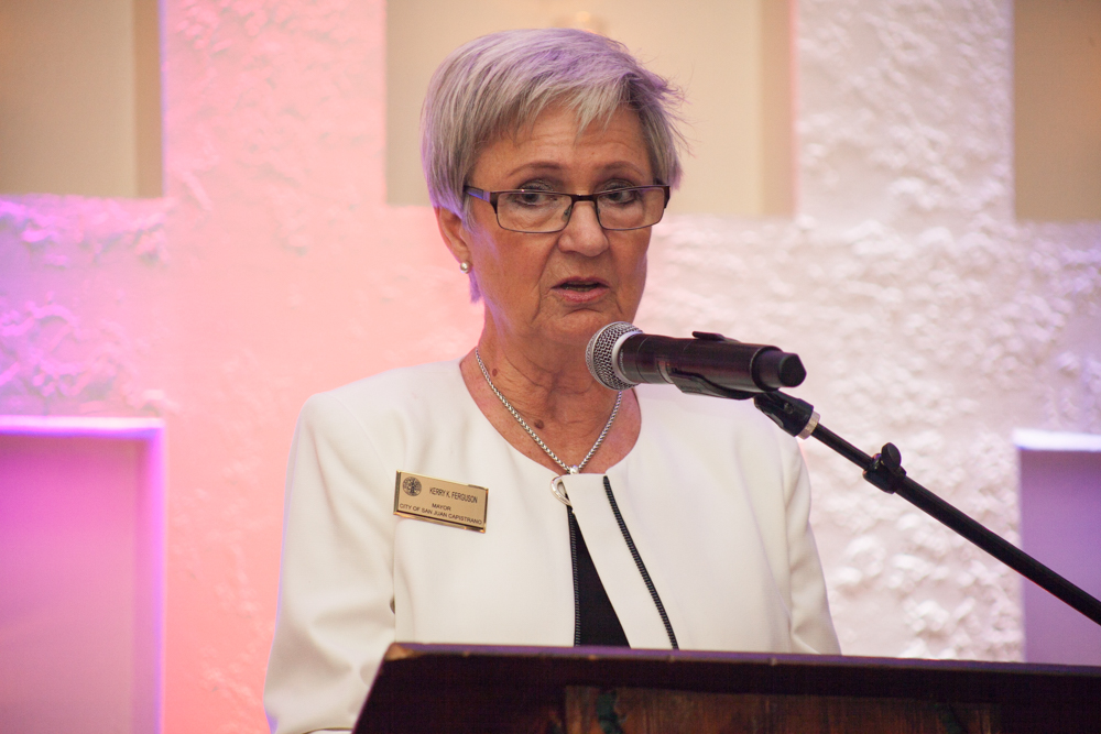 Mayor Kerry Ferguson gave the 2017 State of the City address on March 9. Photo: Allison Jarrell