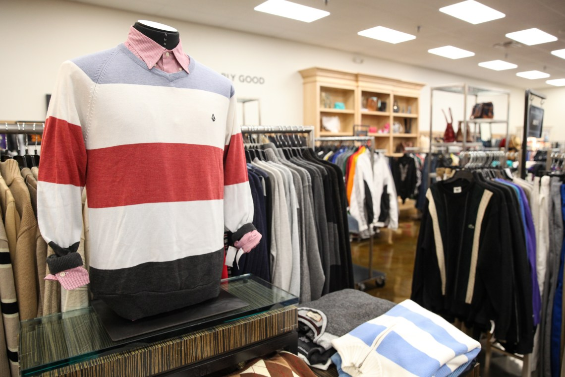 Some of the items on display at OC Goodwill Boutique during the grand opening in San Juan on Oct. 20. Photo: Allison Jarrell