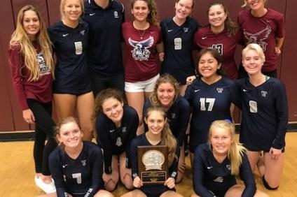 The CVCS girls volleyball team. Photo: Courtesy