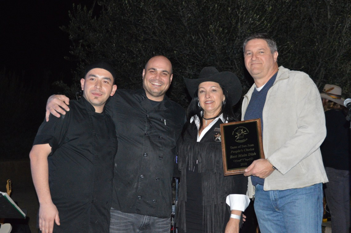 Rancho Capistrano Winery won the People's Choice Award for Best Main Course. Photo: Emily Rasmussen