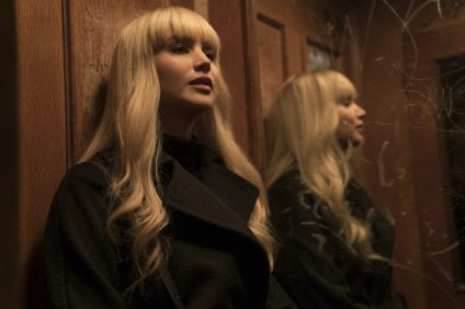 Jennifer Lawrence stars in Twentieth Century Fox's RED SPARROW. Photo Credit: Murray Close.