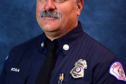 Long Beach Fire Department Capt. David Rosa. Photo: Courtesy