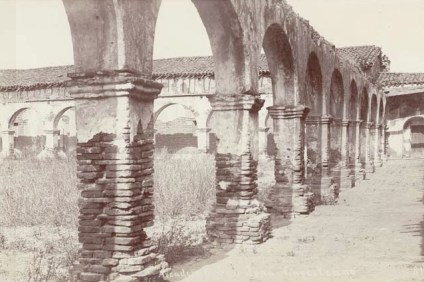 Mission San Juan Capistrano circa 1892. Photo: Courtesy of California State Library