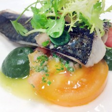 Mackerel with Heritage Carrots and Coriander