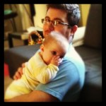 Wordless Wednesday: Daddy Snuggles