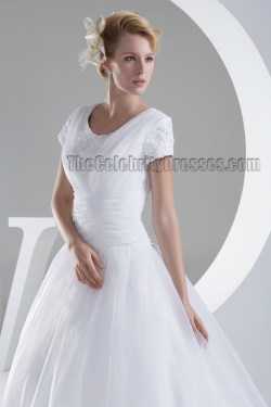 Small Of Organza Bridal Gown
