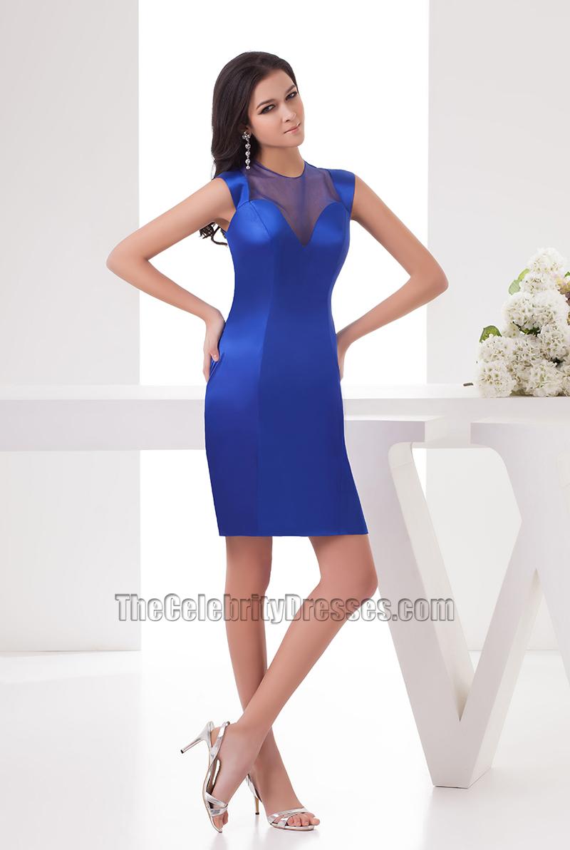 Fullsize Of Royal Blue Cocktail Dress