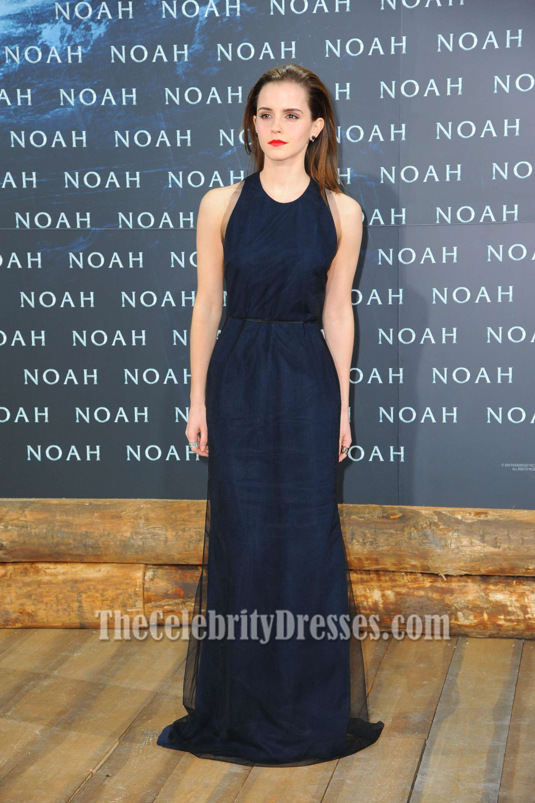 Startling Emma Watson Navy Backless Prom Dress Noah Premiere Emma Watson Navy Backless Prom Dress Noah Premiere Blue Dress Outfit Blue Dresser wedding dress Dark Blue Dress