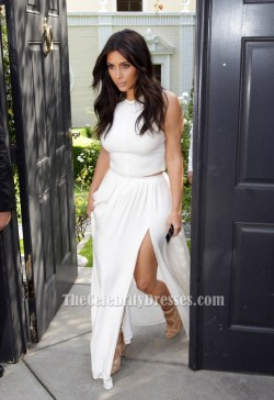 Swanky Kim Kardashian Baby Shower Two Pieces Dress Kim Kardashian Baby Shower Two Pieces Dress Formal Dresses Cheap Formal Dresses 12 Year S