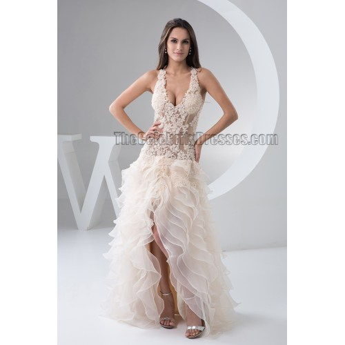 Medium Crop Of High Low Wedding Dress