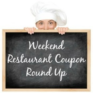 Weekly Restaurant Deals Round Up