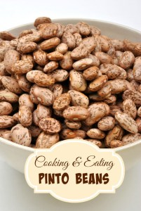 Cooking & Eating Pinto Beans