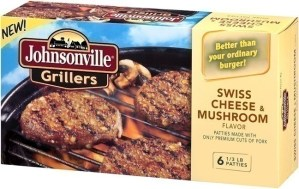 JOHNSONVILLE SAUSAGE, LLC SWISS AND MUSHROOM