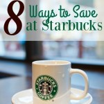 8 Ways to Save at Starbucks