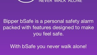 Emergency Safety with #bSafe App