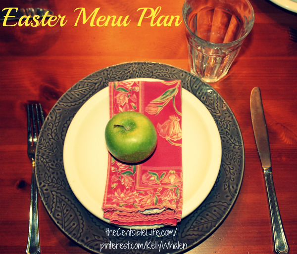 Easter Menu Plan