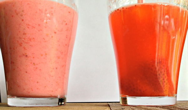 Healthy Strawberry Drinks
